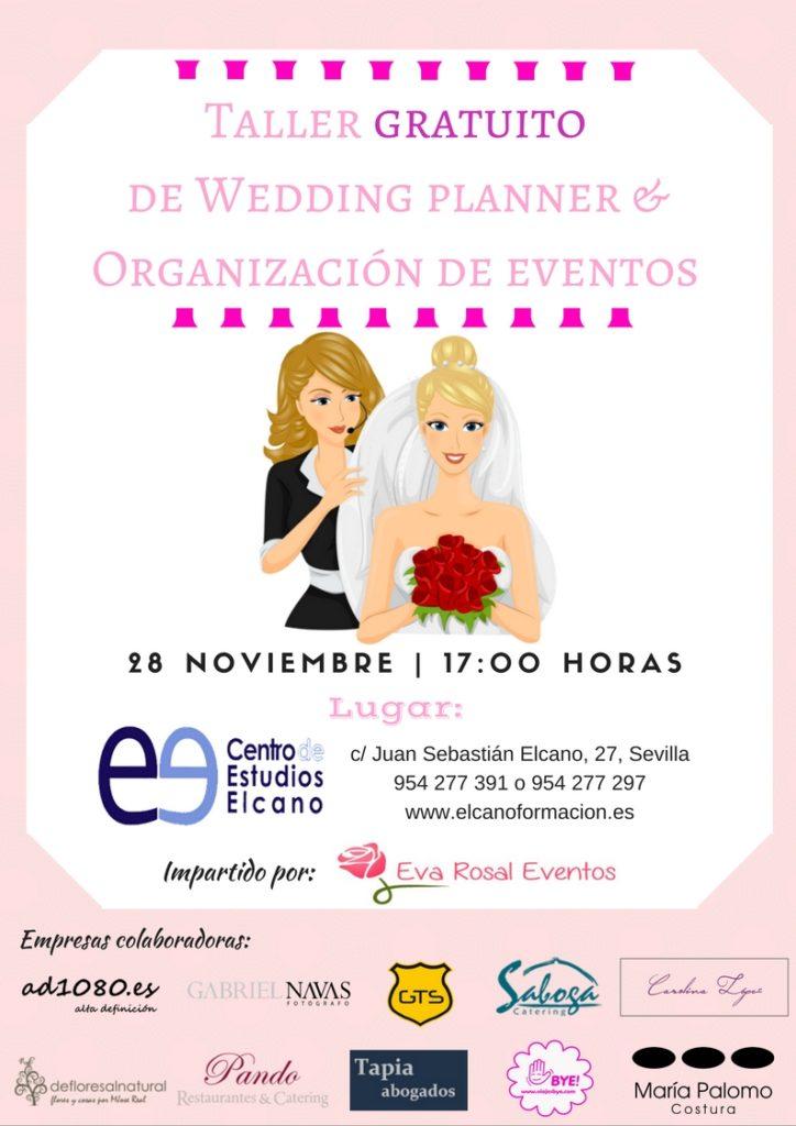 Taller gratuito Wedding Planner en Sevilla